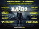 The Raid 2 UK poster