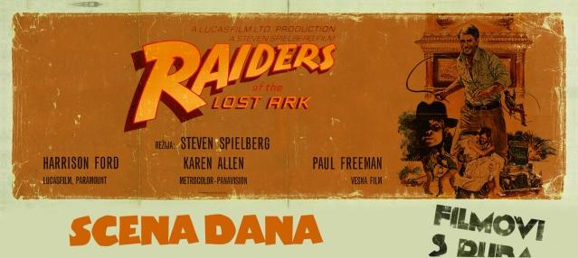 Scena dana_Raiders of the Lost Ark