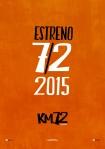 Km 72 poster