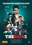 The Raid 2 Berandal poster