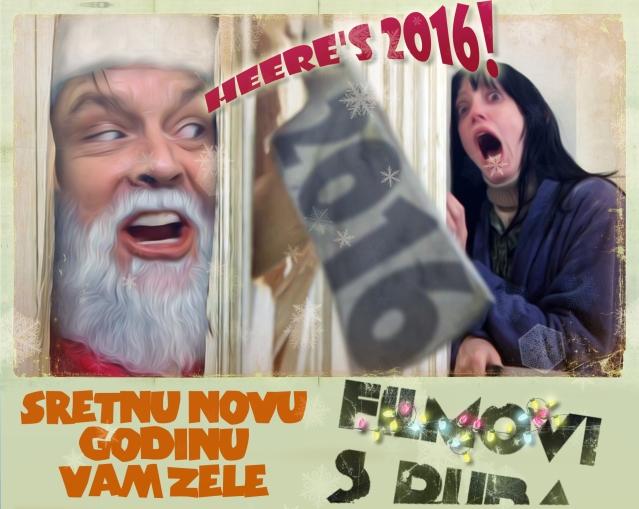 Sretnu novu 2016 Godinu žele Vam Filmovi s Ruba