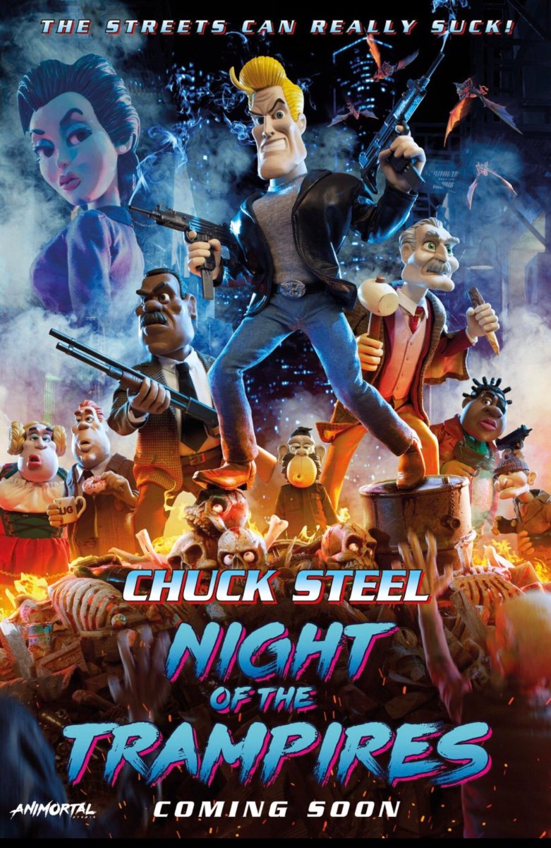 NAJAVA – Chuck Steel: Night of the Trampires (2018)