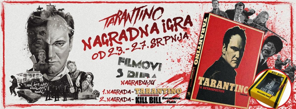 NAJAVA – Tarantino: NAGRADNA IGRA! Od 23. - 27. Srpnja